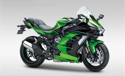 Kawasaki ALL NEW 2018 Ninja H2 SX SE Compare
